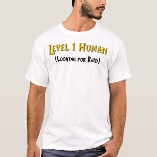 Mensch des Niveau-1 T-Shirt