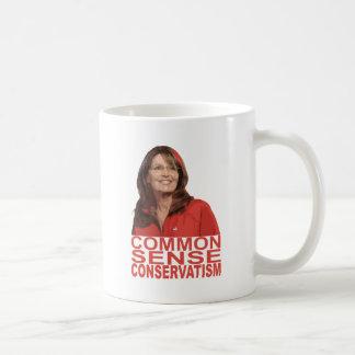 Menschenverstand-Konservatismus Kaffeetasse