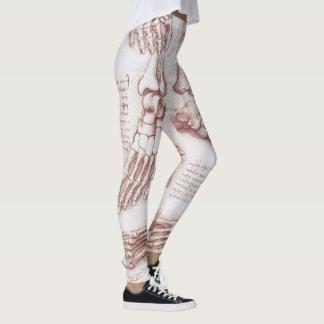 Menschliche Anatomie-Skeleton Fuß-Knochen durch da Leggings