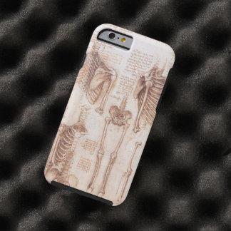 Menschliche Anatomie-Skelette durch Leondardo da Tough iPhone 6 Hülle