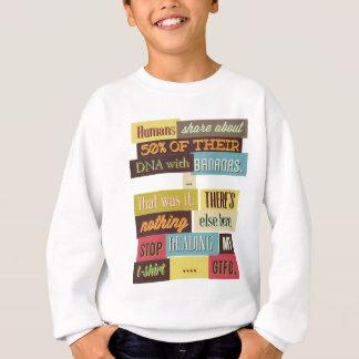 menschliche DNA simsen Entwurf Sweatshirt