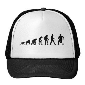 Menschliche Evolution: Fußball-Hut Retrocap
