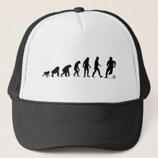 Menschliche Evolution: Fußball-Hut Truckerkappe