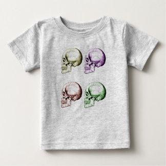 Menschliche Schädel Baby T-shirt