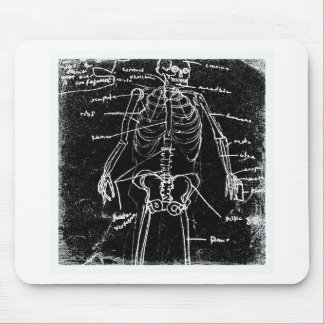 menschliche skeleton Anatomie yaie Tokyos Mousepad