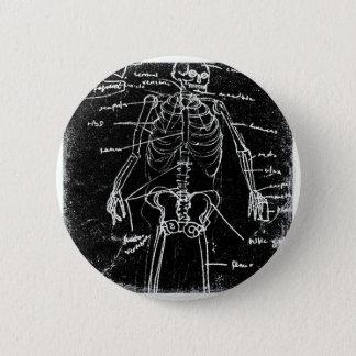 menschliche skeleton Anatomie yaie Tokyos Runder Button 5,1 Cm