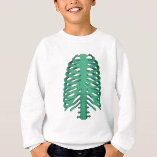 Menschliche Skeleton Rippen Sweatshirt