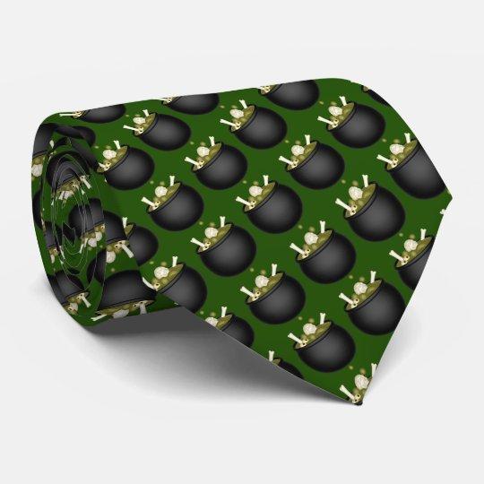 Menschliche Suppe Personalisierte Krawatten
