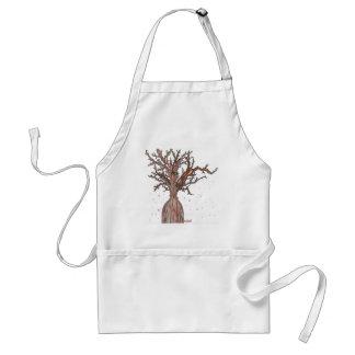Menschlicher Kirschblüte-Baum Schürze