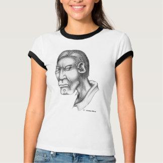 Menschlicher Kopf: Greller Glanz - WB Hemd