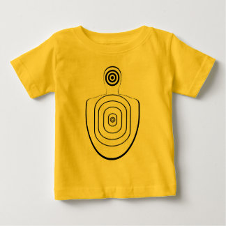 Menschlicher Kopf-Körper-Bullaugen-Baby-Shirt Baby T-shirt