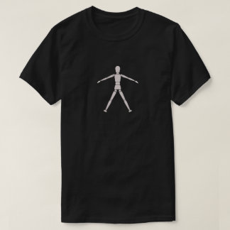 Menschlicher Puppen-T - Shirt
