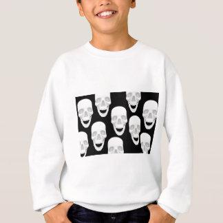 Menschlicher Schädel-Entwurf Sweatshirt