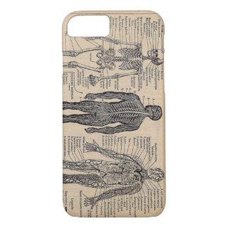 Menschlicher Skeleton medizinischer Diagramm iPhone 8/7 Hülle
