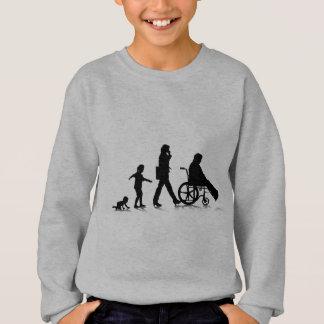 Menschliches Aging_4 Sweatshirt