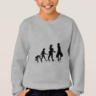 Menschliches Evolution_10 Sweatshirt
