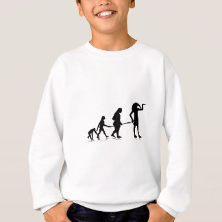 Menschliches Evolution_12 Sweatshirt