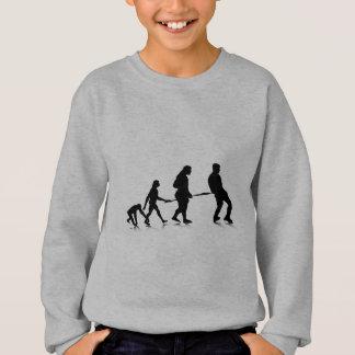 Menschliches Evolution_4 Sweatshirt