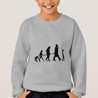 Menschliches Evolution_6 Sweatshirt