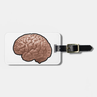 Menschliches Gehirn-Gepäckanhänger Gepäckanhänger