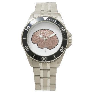 Menschliches Gehirn-Uhr Armbanduhr