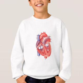 Menschliches Herz Sweatshirt