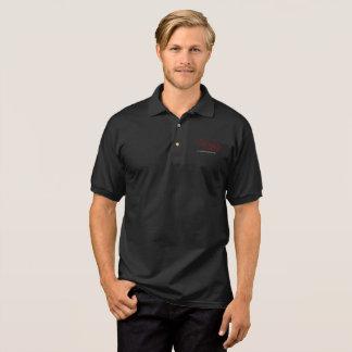 menschliches Jesus-Schwarzes Polo Shirt