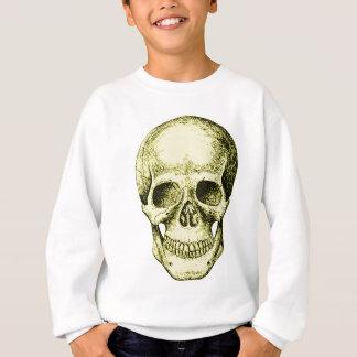 Menschliches Schädelbronzegesicht Sweatshirt