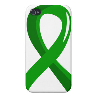 Mental Health Green Ribbon 3 iPhone 4/4S Case