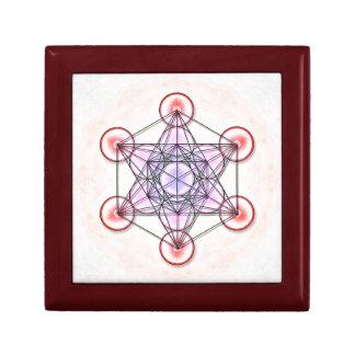 Mentatrons Würfel - Artwork I Kleine Quadratische Schatulle