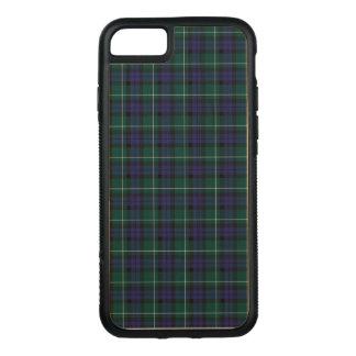 Menteith Schottland Bezirktartan-Muster Carved iPhone 8/7 Hülle