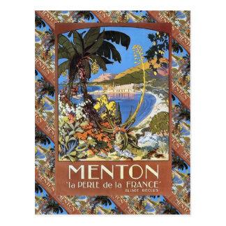 Menton, La Frankreich Le Perle de Postkarten