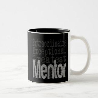 Mentor Extraordinaire Zweifarbige Tasse