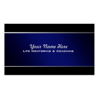 Mentoring und coachte Geschäfts-Karten Visitenkarten