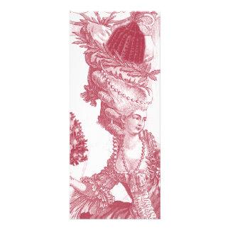 Menü-Karte Joyeux Weihnachten- Rouge Individuelle Einladungskarten