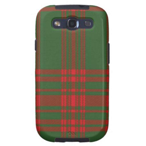 Menzies schottischer Tartan Samsung rufen Fall an Galaxy SIII Etui