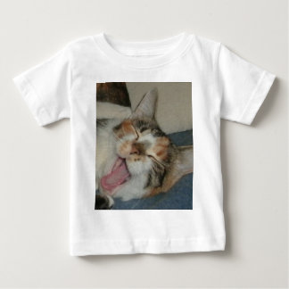 Meow-Gegähne Baby T-shirt