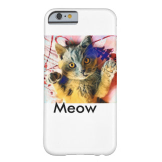 Meow-Katze Barely There iPhone 6 Hülle