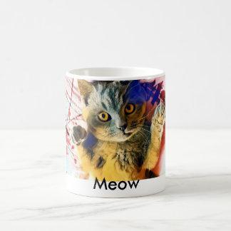 Meow-Katzen-Tasse Kaffeetasse
