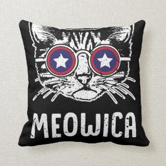Meowica Unabhängigkeitstag-Kissen Kissen