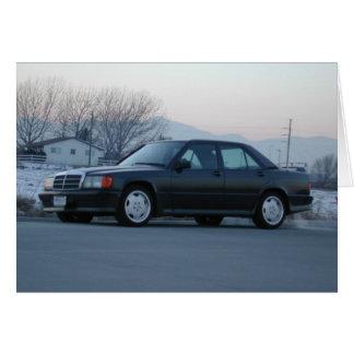 Mercedes-Benz 190 E 2.3-16 Grußkarte