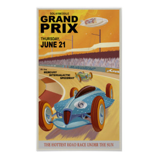 Mercury Grandprix Plakatdruck