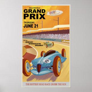 Mercury Grandprix Poster
