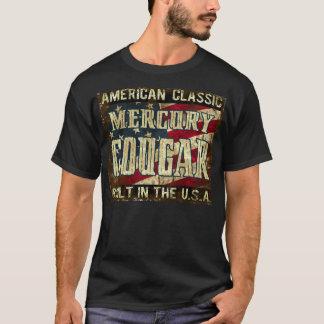 Mercury-Puma - klassisches Auto errichtet in den T-Shirt