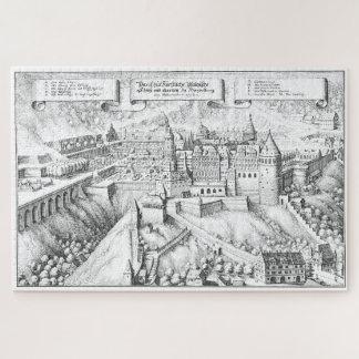 MERIAN: Heidelberg-Schloss und königliche Gärten Puzzle