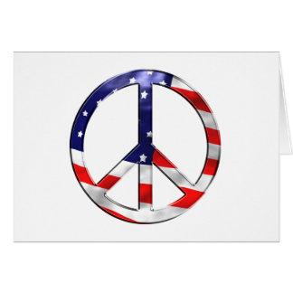 merica Friedenszeichen Karte