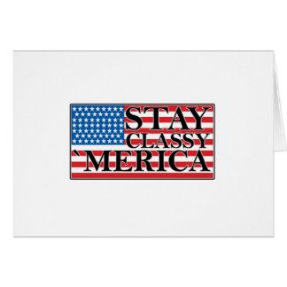 'MERICA US Flaggen-Vintager beunruhigter T - Shirt Karte