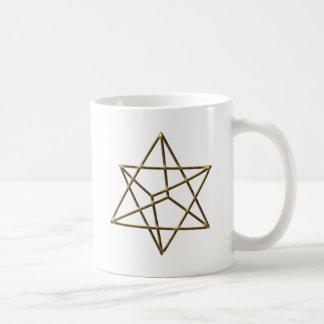 Merkaba - Stern Tetraeder - Metatrons Würfel Kaffeetasse