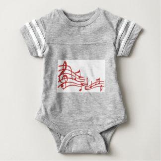 merkt Nachahmung der Stickerei Baby Strampler