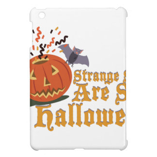 Merkwürdiger Anblick auf Halloween iPad Mini Hülle